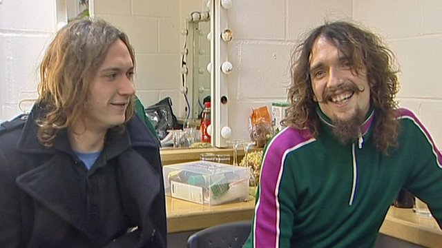 Dan and Justin Hawkins