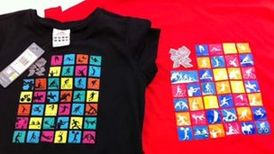 Olympics t-shirts - including a fake