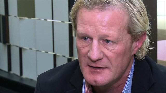 Former Blackburn defender Colin Hendry