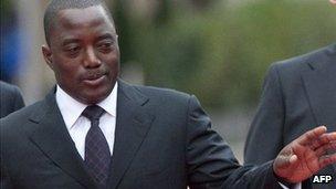 President Joseph Kabila (October 2010)