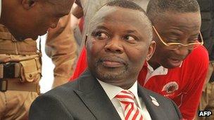 DR Congo presidential candidate Vital Kamerhe (December 2010)