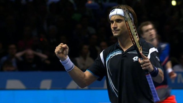 Spain&#039;s David Ferrer beats Andy Murray