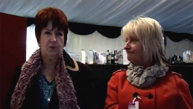 Mavis Breslin and Lynette Powell