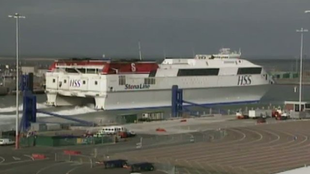 Stena Line fast ferry