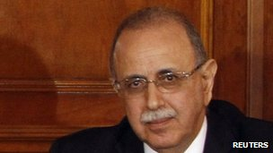 Libyan Prime Minister-designate Abdurrahim al-Keib in Tripoli - 21 November 2011