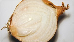 Half an onion