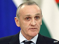 Abkhaz President Alexander Ankvab