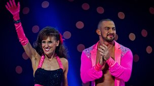 Anita Dobson and Robin Windsor