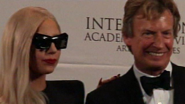 Lady Gaga and Nigel Lythgoe
