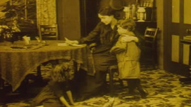 A scene from The Life of David Lloyd George. Footage courtesy of the National Screen and Sound Archive of Wales
