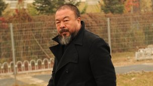 Ai Weiwei, in Beijing on 17 November 2011