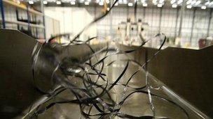 Wing Spar at GKN's Avonmouth factory, near Bristol