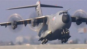 A400M Airbus new military cargo plane