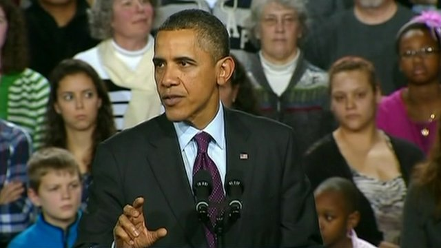 President Barack Obama in New Hampshire