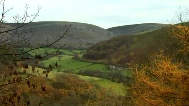 Clwydian Hills near Llangollen