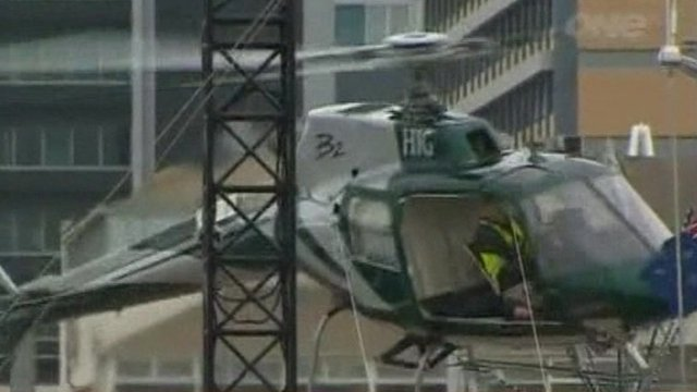 Helicopter crash in New Zealand