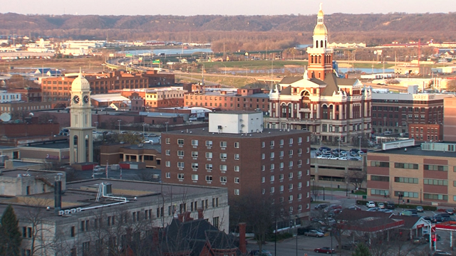 The city of Dubuque