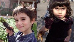 Yaanis and Mira Mellersh