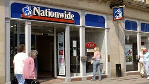 Nationwide branch in Wigan