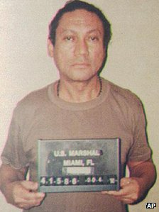 Manuel Noriega in file photo from 1990