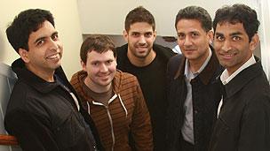 Shantanu Sinha and the Khan Academy team