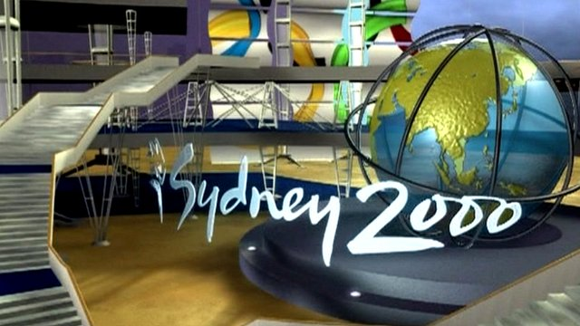 BBC Sydney 2000 opening sequence