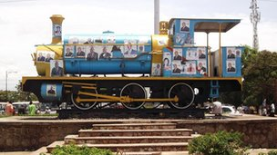 Lubumbashi&#039;s first locomotive