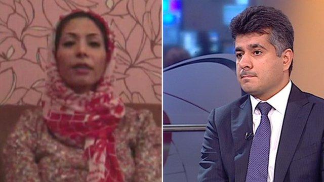 Dr Fatima Haji and Kamal Ahmad
