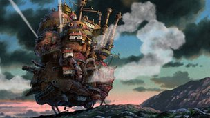 Scene from Howl's Moving Castle
