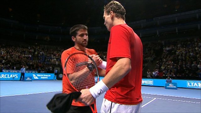 Tipsarevic congratulates Berdych