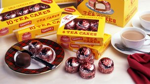 Tunnock's tea cake selection