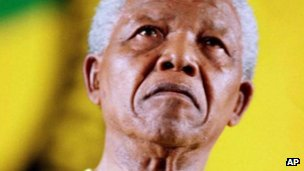 Nelson Mandela photographed in December 1997
