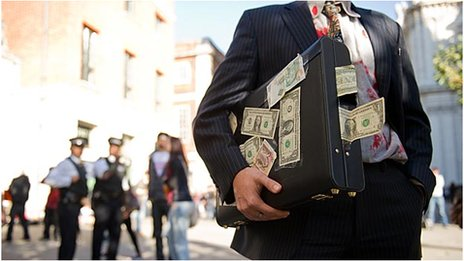 An Occupy London Stock Exchange  activist