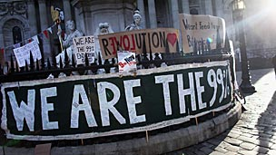 Occupy London Stock Exchange activists
