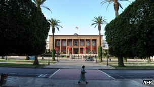 Parliament in Rabat, Morocco, 20 November 2011