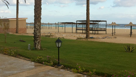Empty beach in Marsa Matrouh