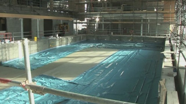bbc news swimming pool built after 80 year campaign