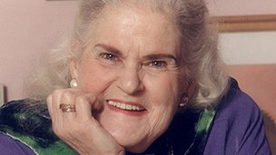 Anne McCaffrey, copyright Edmund Ross