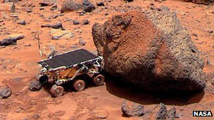 Sojourner and the &quot;Yogi&quot; rock
