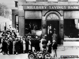 The 1929 run on the Millbury savings bank in Massachusetts