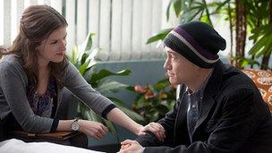 Anna Kendrick and Joseph Gordon-Levitt