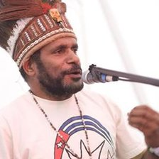 Picture of Benny Wenda courtesy of www.bennywenda.org