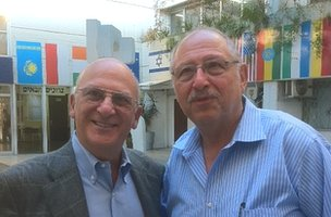 Yossi Vardi, Ken Novack