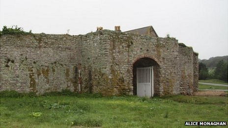 Gatehouse of the Nunnery in Alderney