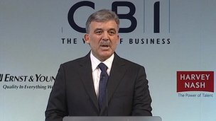 Turkey&#039;s Abdullah Gul 