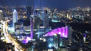 Istanbul&#039;s financial district