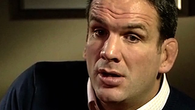 Former England team manager Martin Johnson