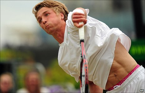British tennis star Liam Broady has been a Wimbledon finalist twice!
