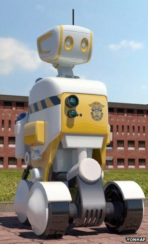 Prison guard robot prototype