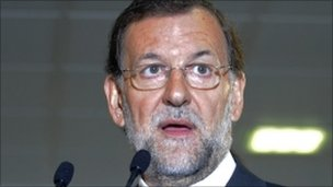 Mariano Rajoy, 18 October 2011